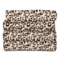 Sunbeam® Fleece Heated Throw, Cheetah