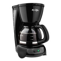 Mr. Coffee® Simple Brew 4-Cup Switch Coffee Maker White, TF5-RB