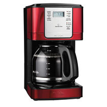 Mr. Coffee® Advanced Brew 12-Cup Programmable Coffee Maker Red/Stainless, JWX36-NP