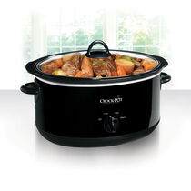Crock-Pot® 8-Quart Manual Slow Cooker, Black