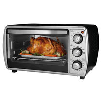 Oster® 6-slice Convection Toaster Oven, Black
