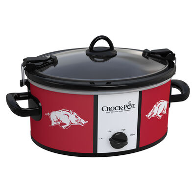 Arkansas Razorbacks Collegiate Crock-Pot® Cook & Carry™ Slow Cooker