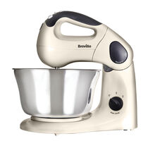 Pick & Mix Hand and Stand Mixer, Vanilla Cream, 10 speeds, 380w