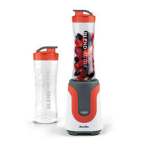 Breville Blend Active Personal Blender, Orange with x2 600ml Bottles