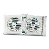 Holmes® HAWF2030-N Dual Blade Twin Window Fan with Thermostat