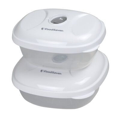 FoodSaver® Sandwich & Snack Containers 2pk