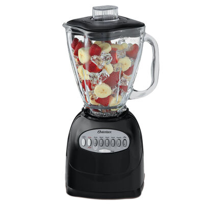 Oster®  Simple Blend™ 200 Blender - Black - Glass Jar
