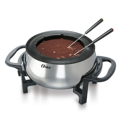 Oster® 3.5-Qt Fondue Pot with Forks, Stainless Steel