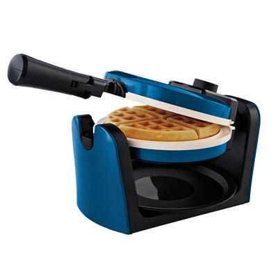 Oster® DuraCeramic™ Flip Waffle Maker - Blue