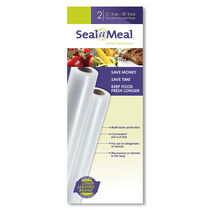 "Seal-a-Meal® 11""x9' Bag Rolls, 2 Pack"