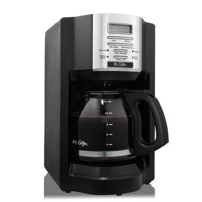 BVMC-EHX Series 12-Cup Programmable Coffee Maker, Black