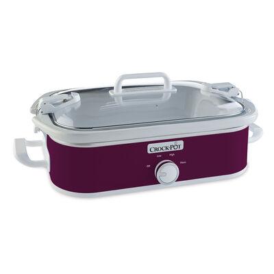 Crock-Pot® Casserole Crock Slow Cooker, Cranberry