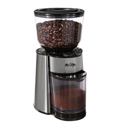 Automatic Burr Mill Grinder, Stainless Steel