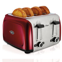 Oster® Designed to Shine™ 4-Slice Toaster, Red