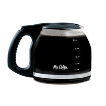 Mr. Coffee® 12-Cup Glass Carafe, Black