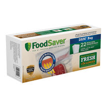 FoodSaver® GameSaver® DAM® Gallon Heat-Seal Bags, 22  Count