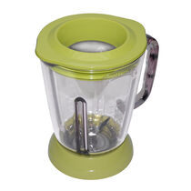 Margaritaville® Glass Jar with Lid, Key Lime Green, Fits Key West, Fiji & Bahamas