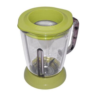 Margaritaville® Glass Jar with Lid, Key Lime Green, Fits Key West, Fiji & Bahamas