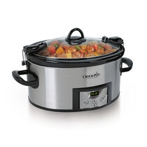 Crock-Pot® Cook & Carry™ 6Qt. Oval Programmable Slow Cooker, Stainless