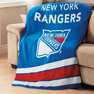Sunbeam® NHL® Fleece Heated Throw, New York Rangers®