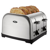 Oster® 4-Slice Toaster, Brushed Stainless Steel
