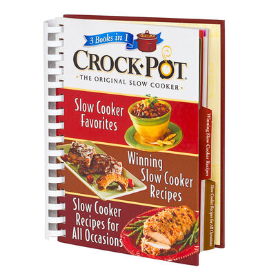 Crock-Pot® Slow Cooker Digest 3 Books in 1 Recipe Favorites, Winning Recipes, & All Occasion Recipes