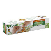 "FoodSaver® 11"" x 16' Portion Pouch Vacuum-Seal Roll, Single Roll"