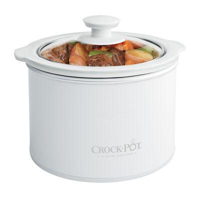 Crock-Pot® 1.5-Quart Slow Cooker, White