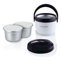 Crock-Pot® Lunch Crock® Food Warmer, Black w/ Extra Warming Bowl