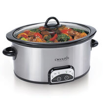 Crock-Pot®  6-Quart Smart-Pot® Slow Cooker, Brushed Stainless Steel