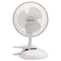 "Holmes® 6"" Table/Clip Convertible Fan"