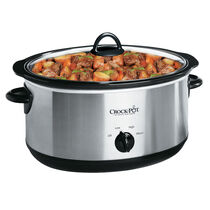 Crock-Pot® 7-Quart Manual Slow Cooker, Silver