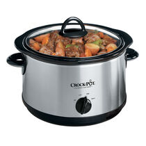 Crock-Pot® 5-Quart Manual Slow Cooker, Silver