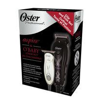 aspire™ Adjustable Magnetic Motor Clipper & O'Baby® Mini Trimmer Combo Kit