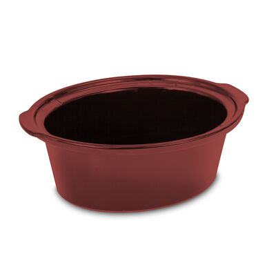 Crock-Pot® Slow Cooker 4-Quart Replacement Oval Stoneware - Red