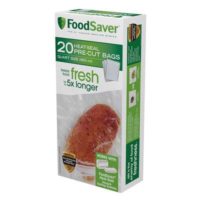 FoodSaver® Quart Vacuum-Seal Bags, 20 Count