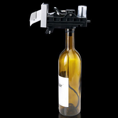 skybar® Triple Wine System Bottle Pour Assembly, Midnight Black