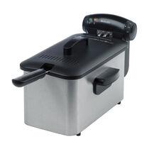 Stainless Steel 3L Oil, 1Kg Food Deep Fat Fryer