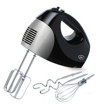 Oster® 6 Speed Retractable Cord Hand Mixer, Black