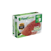 FoodSaver® Quart Size Heat-Seal Vacuum Sealer Bags, 48 Count