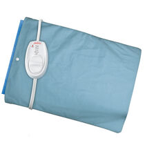 Sunbeam® Heating Pad with Slide Controller, Blue