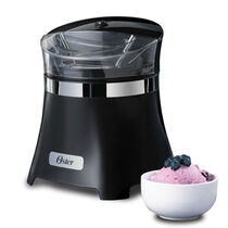 Oster® 1.5 Qt. Gel Canister Ice Cream Maker- Black