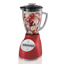 Oster® Accurate Blend™ 200 Blender - Red - Glass Jar