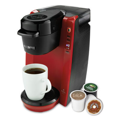 Single Cup K-Cup® Brewing System, 24 ounces, Red