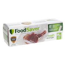 "FoodSaver® 8"" x 20' Vacuum-Seal Roll, Single Roll"