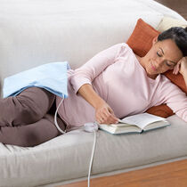 Sunbeam® Heating Pad with UltraHeat™ Technology, Light Blue