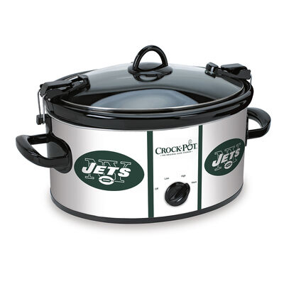 New York Jets NFL Crock-Pot® Cook & Carry™ Slow Cooker