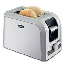 Oster® 2-Slice Digital Countdown Toaster, Brushed Stainless