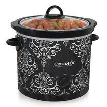 Crock-Pot® Manual Slow Cooker, Damask Pattern