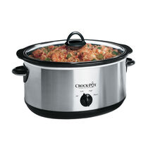 Crock-Pot 6.5L Brushed Chrome Slow Cooker
